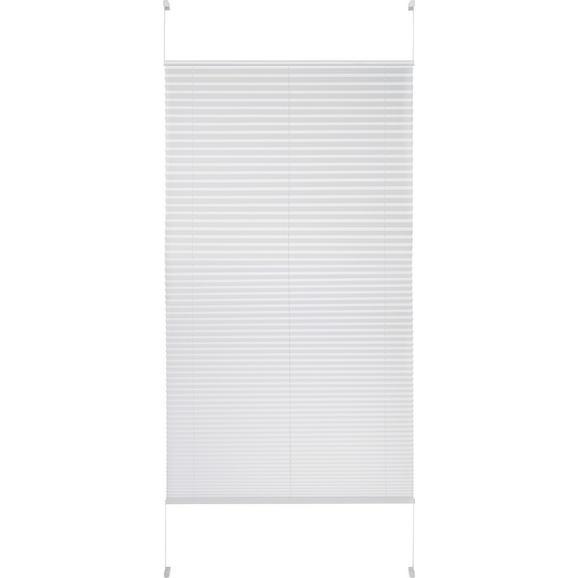 Plissee Free in Weiß ca. 90x210cm - Weiß, Textil (90/210cm) - Premium Living