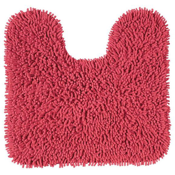Wc-preproga Jenny - rdeča, tekstil (55/55cm) - Mömax modern living