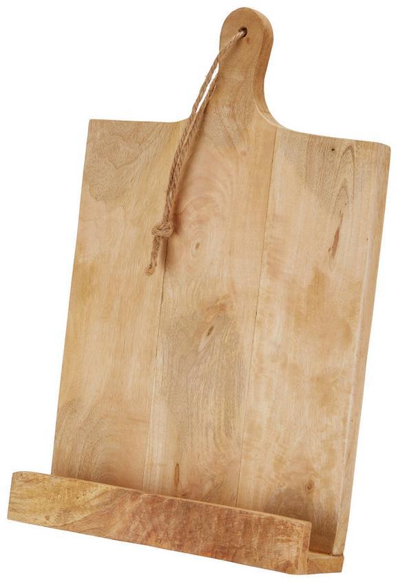 Kochbuchhalter Liam Holz - Braun, Holz (25/38/6,5cm)