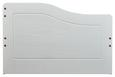 Kinder-/Juniorbett Weiß 90x200cm - Weiß, LIFESTYLE, Holz (208/62/97cm) - Zandiara