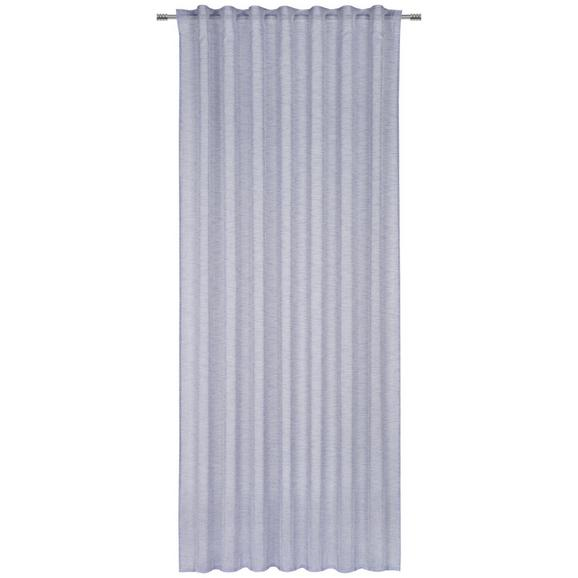 Készfüggöny Sigrid 140/245 - Kék, romantikus/Landhaus, Textil (140/245cm) - Premium Living