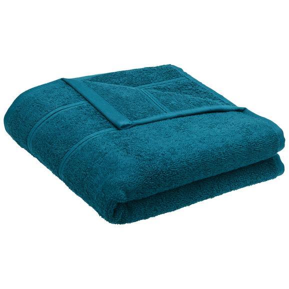 Handtuch Melanie Petrol - Petrol, Textil (50/100cm) - Mömax modern living