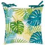 Sitzkissen Green Leaf, ca. 40x40cm - Multicolor, Textil (40/40cm) - MÖMAX modern living