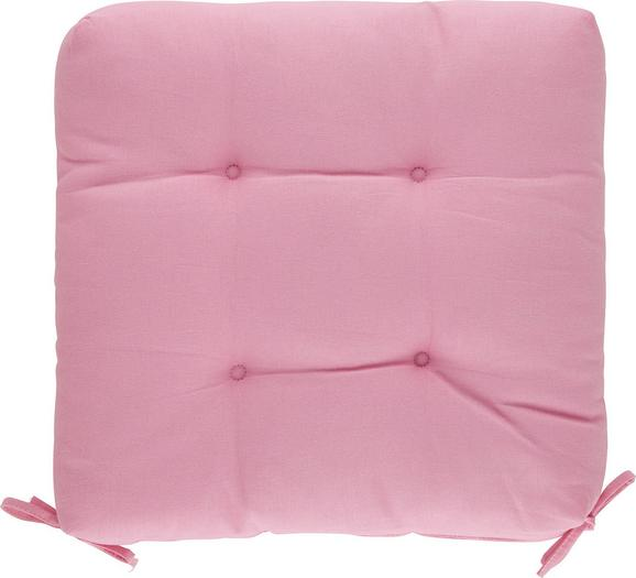 Sedežna Blazina Elli -top- - roza, tekstil (40/40/7cm) - Mömax modern living