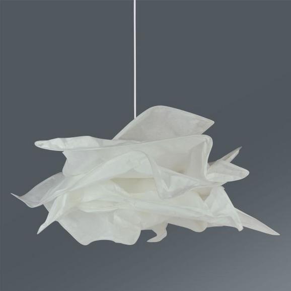 Hängeleuchte Ina, Max. 1x15watt - Weiß, MODERN, Kunststoff (50/112cm) - MÖMAX modern living