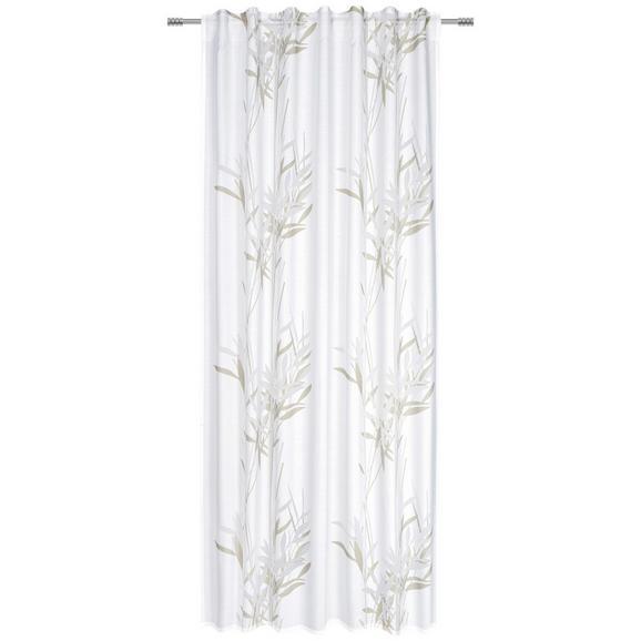 Zavesa Z Zankami Gräser - siva, Moderno, tekstil (135/245cm) - Mömax modern living