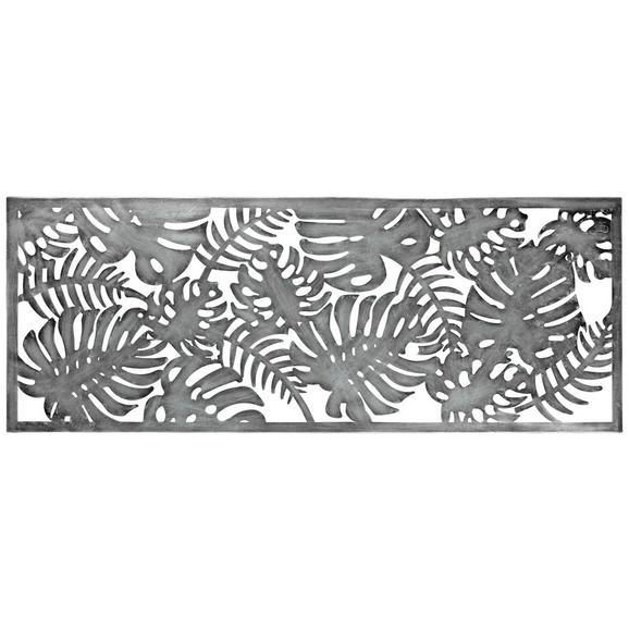 Stenska Dekoracija Leaf - srebrna, kovina (115/44/3cm) - Mömax modern living