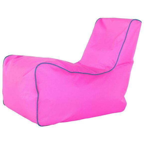 Vreča Za Sedenje Gamer - roza/modra, Moderno, tekstil (82/70/70cm) - Mömax modern living