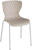 Konferenčni Stol Enna - svetlo rjava/krom, kovina/umetna masa (44/80,5/51cm) - Mömax modern living