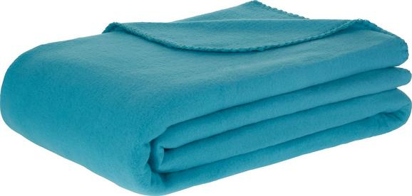Polár Pléd Trendix - Olajkék, Textil (130/180cm) - Mömax modern living