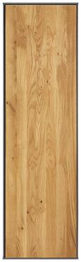 Hängeelement Anthrazit/Eiche - Eichefarben/Anthrazit, MODERN, Holz/Holzwerkstoff (38/137/32cm) - PREMIUM LIVING