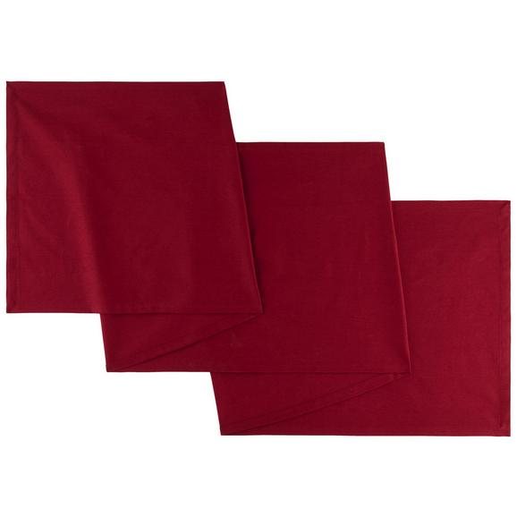 Asztali Futó Steffi - Piros, Textil (45/240cm) - Mömax modern living