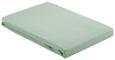Spannleintuch Basic Hellgrün 100x200 cm - Hellgrün, Textil (100/200cm) - Mömax modern living
