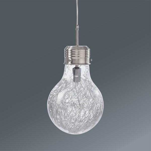 Hängeleuchte Lara, max. 40 Watt - MODERN, Glas/Metall (21/110cm) - MÖMAX modern living