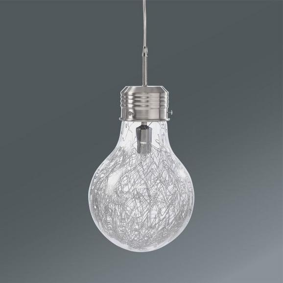 Viseča Svetilka Lara - Moderno, kovina/steklo (21/110cm) - Mömax modern living