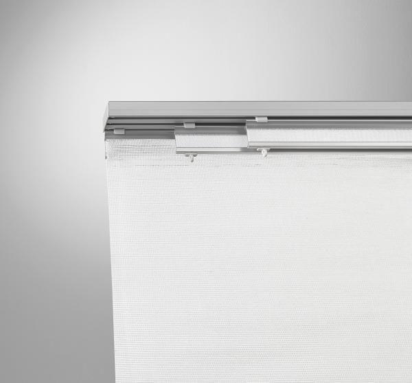 Lapfüggöny Rögzítő Szett Jerry - ezüst színű, fém (160cm) - MÖMAX modern living