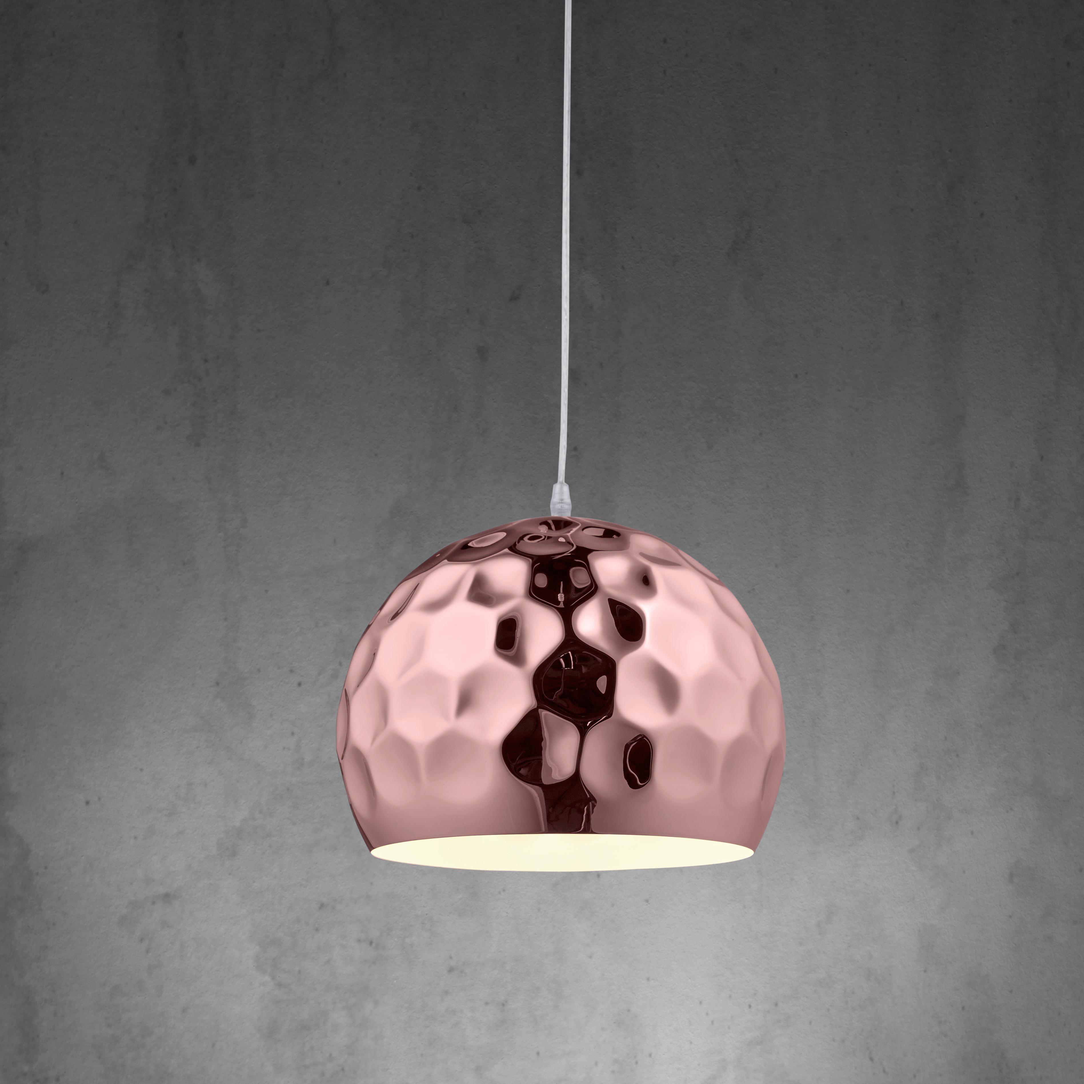 Hängeleuchte Tiago - Kupferfarben, MODERN, Metall (30/120cm) - MÖMAX modern living