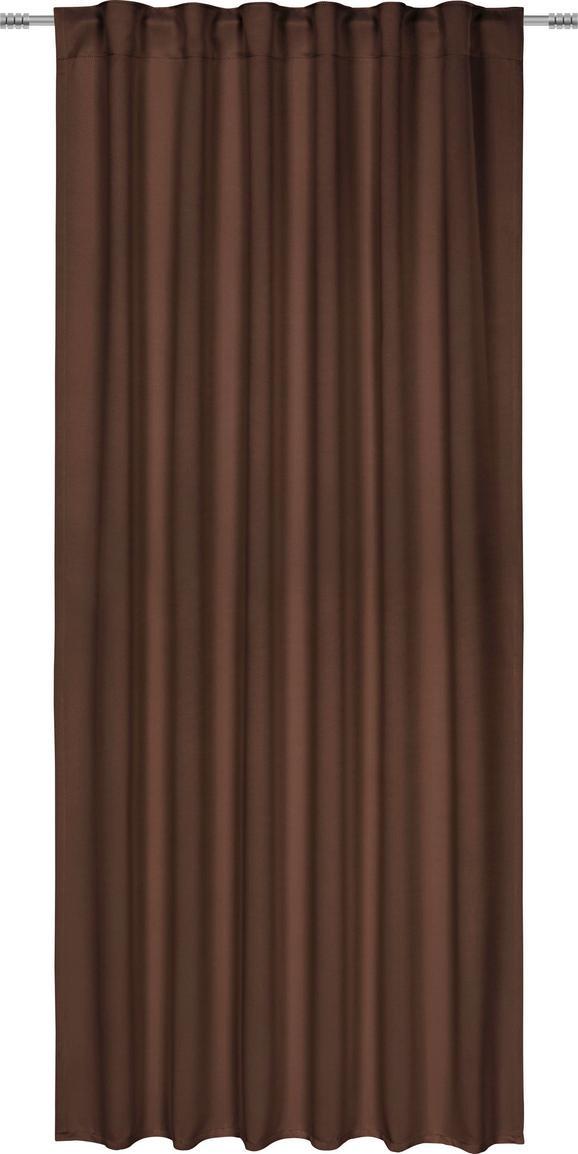 Zatemnitvena Zavesa Riccardo - rjava, Moderno, tekstil (140/245cm) - Premium Living