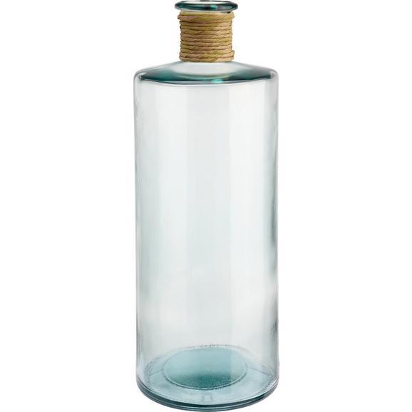 Vase Klara aus Glas - Klar, Glas/Naturmaterialien (40cm) - Mömax modern living