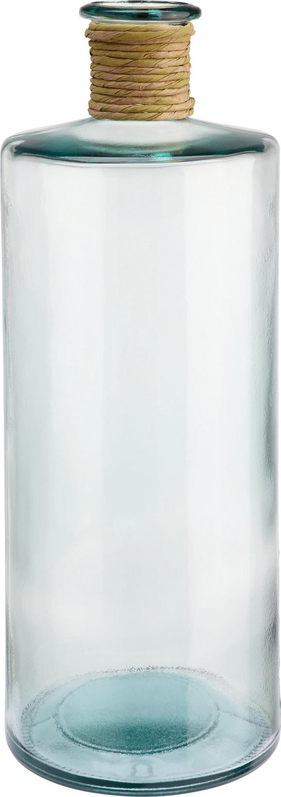 Vaza Klara - prozorna, steklo/ostali naravni materiali (40cm) - Mömax modern living