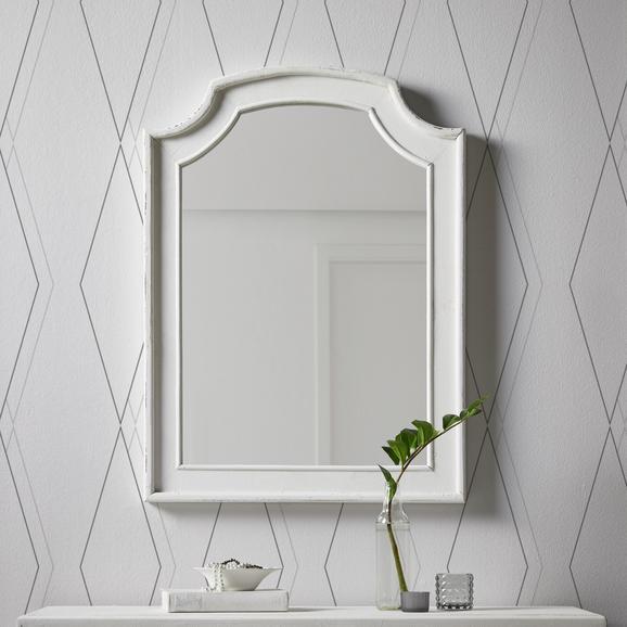 Spiegel Lewis Vintage - Weiß, MODERN, Glas/Holz (63/85/3,5cm) - Mömax modern living