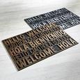 Covoraș International Welcome - argintiu, Modern, plastic (40/60cm) - Modern Living