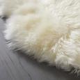 Blană De Oaie Jenny - alb, blană (90-105/60cm) - Modern Living