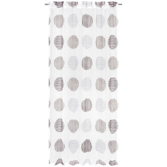 Zavesa Z Zankami Ursi - peščena, Konvencionalno, tekstil (135/245cm) - Mömax modern living