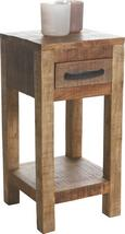 Beistelltisch in Braun - Naturfarben, LIFESTYLE, Holz (30/60/32cm) - ZANDIARA