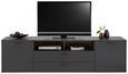 TV-element ARIZONA - krom/srebrna, Moderno, kovina/umetna masa (235/64/42cm) - Premium Living