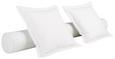 Zierkissenset Grande Prestige Weiß - Beige, Textil (60/60cm) - Premium Living
