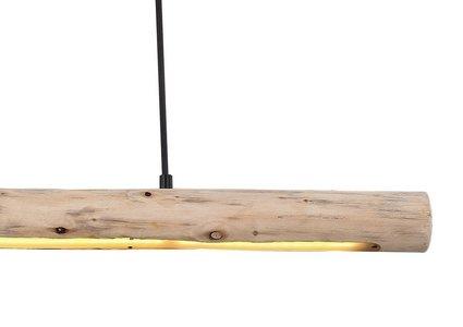 LED Hängeleuchte Mella aus Holz max. 15 Watt