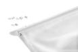Vodilo Za Panelne Zavese Click - aluminij/bela, kovina (60cm) - Mömax modern living