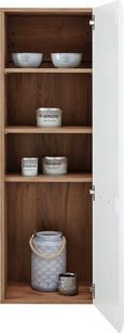 Viseči Element Avensis - bela/hrast, Moderno, umetna masa/leseni material (40,3/123,4/37,1cm) - Mömax modern living
