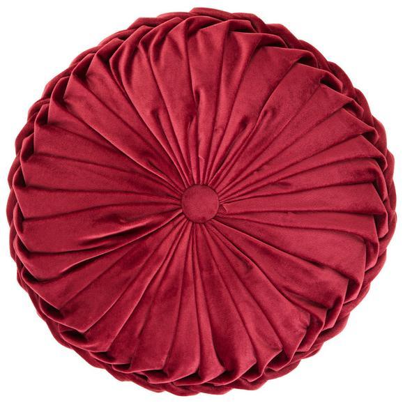 Sitzkissen Fiona in Bordeaux - Bordeaux, Trend, Textil (40/13cm) - Mömax modern living
