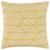 Kissenhülle Mary Jacquard ca. 45x45cm - Messingfarben, MODERN, Textil (45/45cm) - Mömax modern living