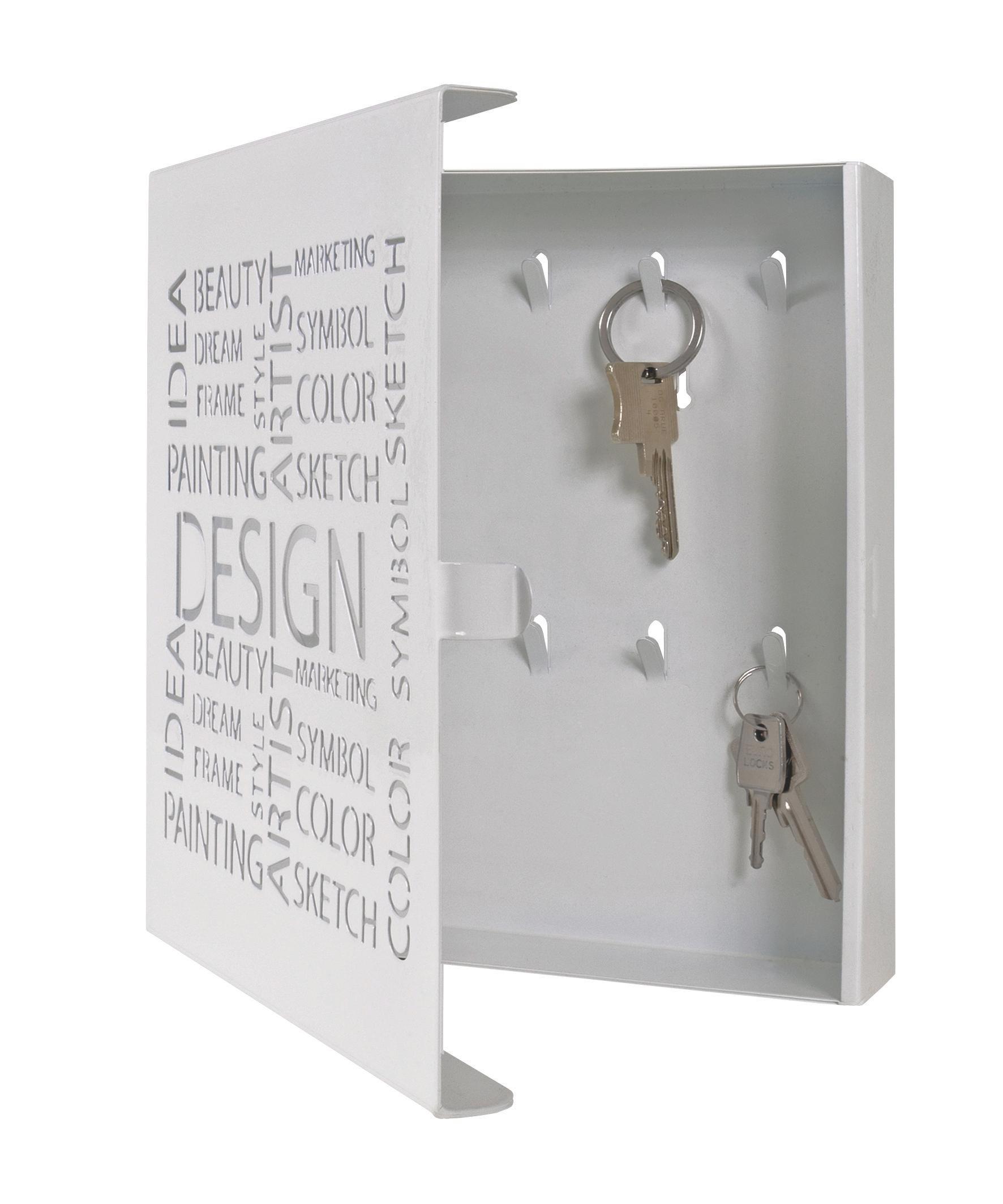 Kulcstartó Design Weiss -sb- - fehér, modern, fém (22/24/5cm)