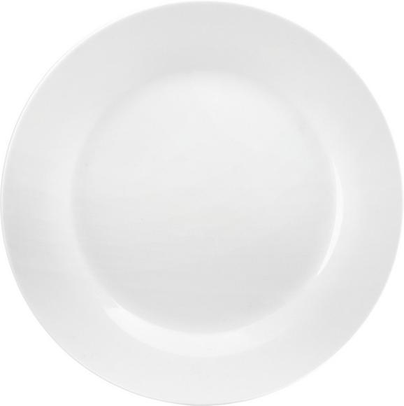 Plitvi Krožnik Adria - bela, Konvencionalno, keramika (27cm) - Mömax modern living