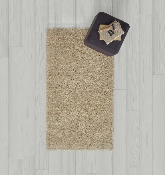 Hochflorteppich Shaggy 80x150cm - Beige, MODERN, Textil (80/150cm) - Mömax modern living