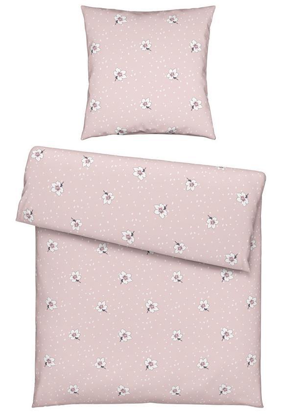 Bettwäsche Malia in Rosa, ca. 135x200cm - Rosa, ROMANTIK / LANDHAUS, Textil (135/200cm) - Mömax modern living