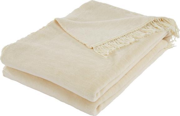 Wohndecke El Sol - Creme, Textil (150/200cm) - MÖMAX modern living