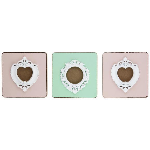 OKVIR ZA SLIKE JACO - roza/meta zelena, Moderno, umetna masa/les (15/20,5/5cm) - Mömax modern living