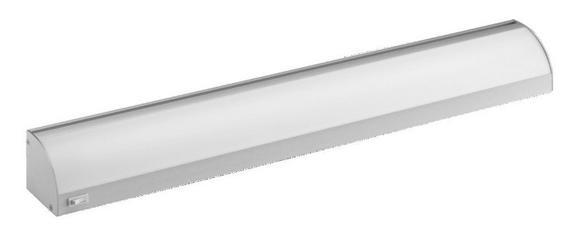 Unterbauleuchte Compact, EEZ A - Edelstahlfarben, ROMANTIK / LANDHAUS, Metall (60cm)