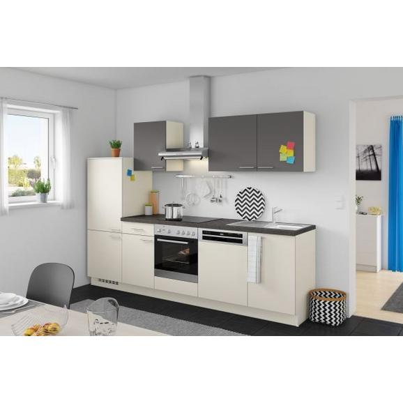 Kuhinjski Blok Win/plan - magnolija/antracit, Moderno, leseni material (280cm) - Express