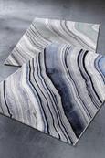 Webteppich Cosmo Blau 120x170cm - Blau, MODERN, Textil (120/170cm) - Mömax modern living