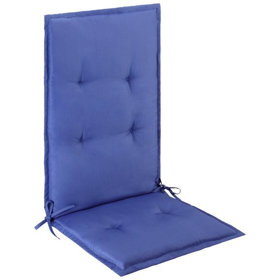 Sesselauflage Poppi 2 in Blau - Blau, Textil (48/115/48cm) - Mömax modern living