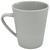 Kaffeebecher Anabel Grau - Grau, Natur, Holzwerkstoff (8,5/9,5cm) - Zandiara