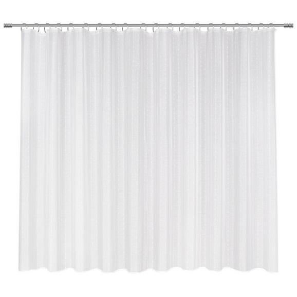 Schlaufenvorhang Lisa Store in Weiß - Weiß, ROMANTIK / LANDHAUS, Textil (300/175cm) - Mömax modern living