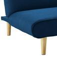 Sofa Katja mit Schlaffunktion - Petrol, MODERN, Holz/Textil (183/85/94cm) - Mömax modern living