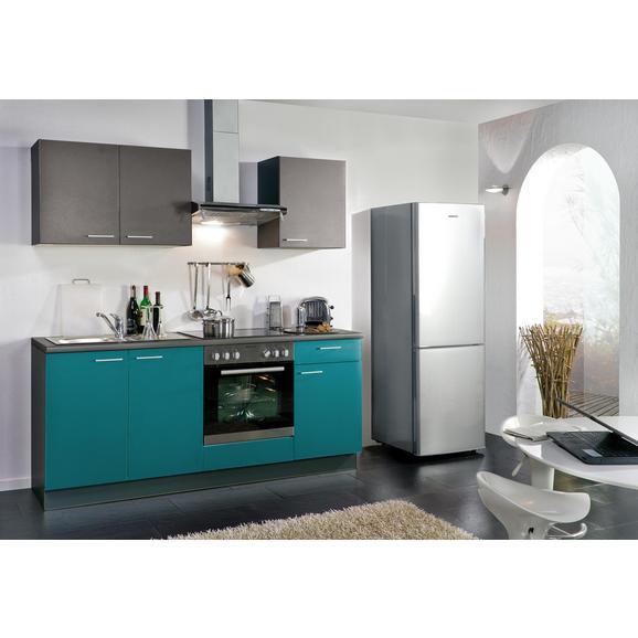 Kuhinjski Blok Win - turkizna/antracit, Moderno, leseni material (200cm) - Express